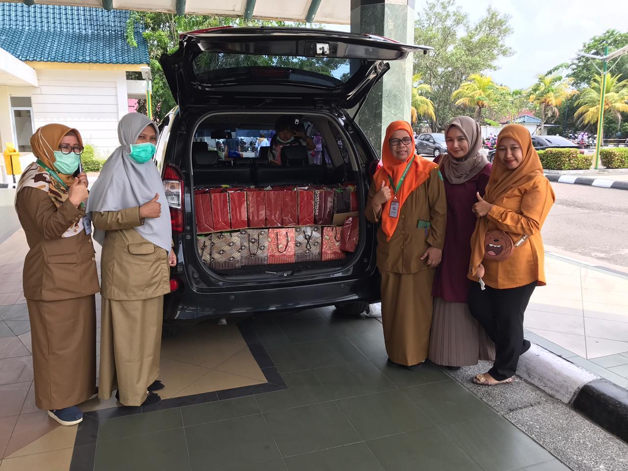 RSUD Bengkalis terima donasi makanan tambahan untuk Tim Covid-19