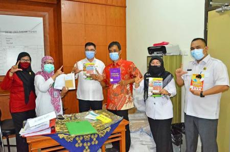 RSUD Bengkalis, satu-satunya RS Prov Riau Yang Menerima Hibah dari Perpusnas RI